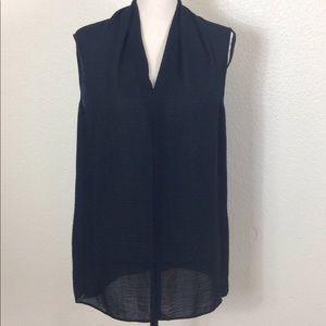 Cabi Women's Sleeveless Blouse Size M Black